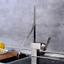 Art Design Waterfall Deck Mounted Bathroom Basin Vessel Sink Mixer Faucet Taps