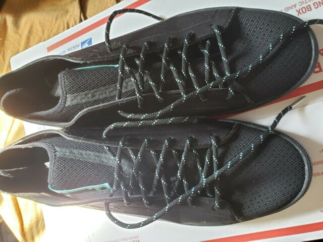 online retailer 5d83e ac3e2 Puma X Diamond Basket Sock Lo Mens Black Textile Lace Up Sneakers Shoes  size 12