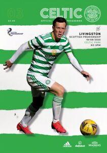 Celtic-v-Livingston-Scottish-Premier-League-Programme-2020-21-Free-UK-Delivery