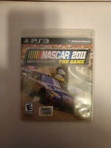 NASCAR-The-Game-2011-Sony-PlayStation-3-Complete-W-Case-amp-Manual-Working-PS3