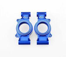 GDS Racing Rear Wheel Hub Carriers Blue for Traxxas X-MAXX 1/5 RC Truck (2pc)