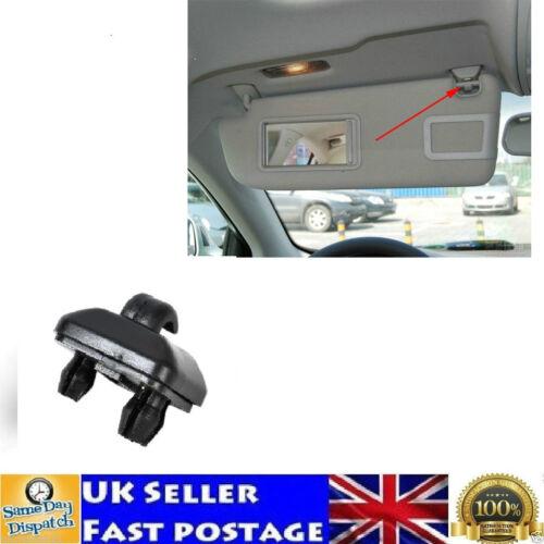 Sun Visor Clip Black Hook Support 8U0857562 8E0857562 Audi A1 A3 A4 8U0857562