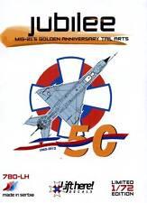 lh780/ Lift Here Decals - MiG-21 - Sonderlackierung der serbischen LW - 1/72