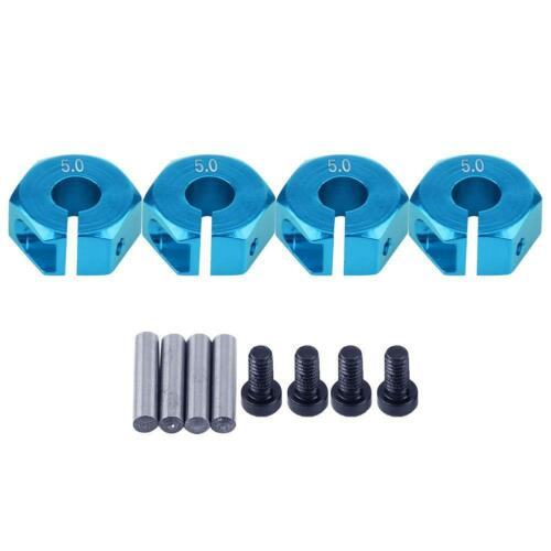 4pcs 12mm Universal Wheel Hex Hub Adapter Mount for HSP Sakura 1//10 Scale RC Car