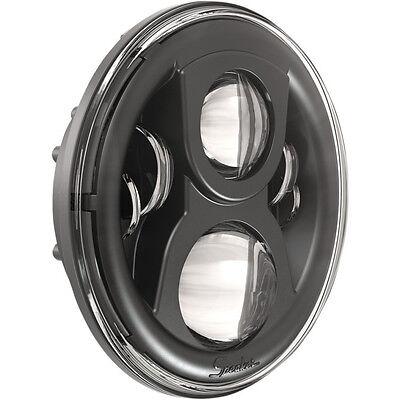 "JW Speaker Harley Davidson 7/"" Evo 2 LED Chrome Dual Burn Headlight"