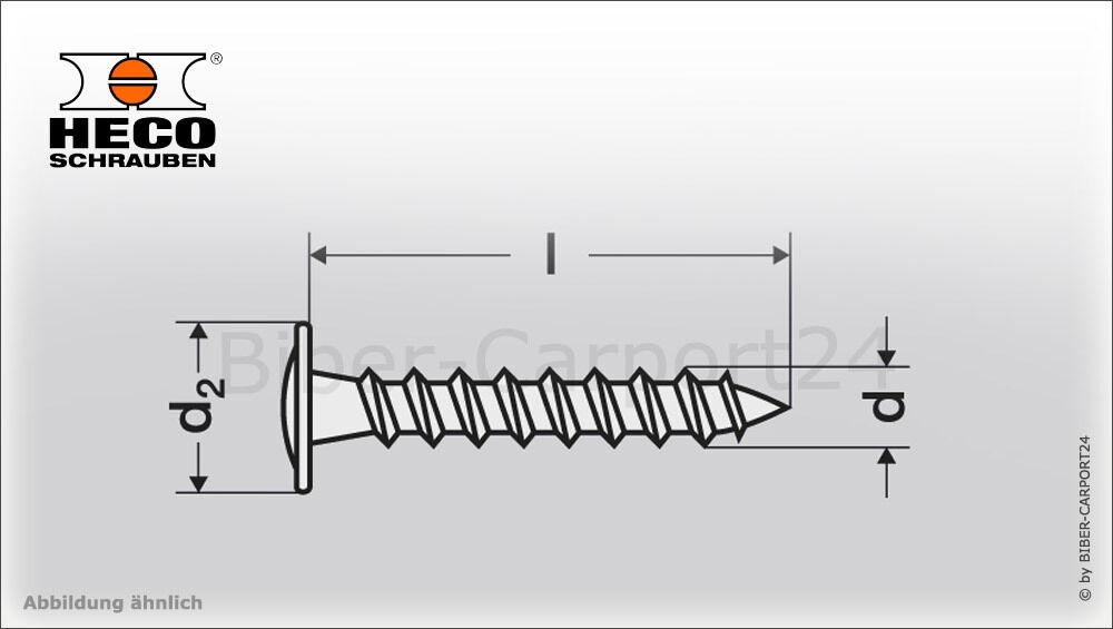 HECO HECO HECO Topix Tellerkopf-Schraube blau M6-M8-M10 bis 400 mm Holzbauschraube Holzbau | Verschiedene Stile und Stile  79efb1