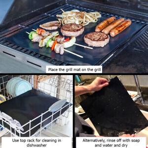 1/2/3/5 pcs BBQ Grill Mat/Accessorie