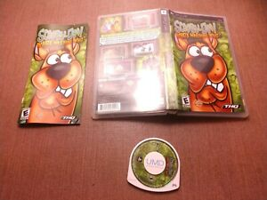 Sony-PlayStation-Portable-PSP-Complete-CIB-Tested-Scooby-Doo-Who-039-s-Watching-Who