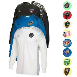 MLS-Adidas-Men-039-s-2016-Authentic-Long-Sleeve-GoalKeeper-Jersey-Collection