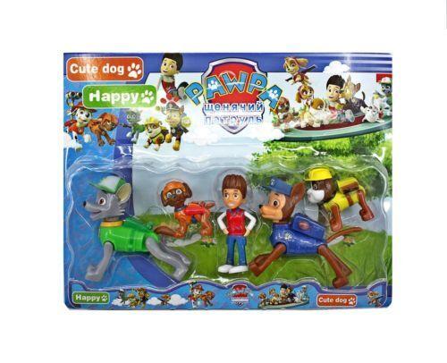 Paw Patrol Figurines Toy Set of 5