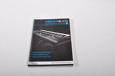 Zubehör für YAMAHA GENOS:Upgrade,-und Referenzbuch+STICKERSET