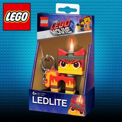 Lego Movie Angry Kitty LED Key Light torch keyring LED Lego Movie Unikitty