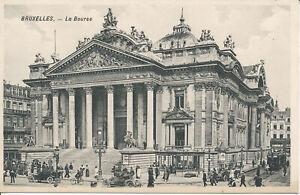PC32391 Bruxelles. La Bourse. H. P. Grand Place