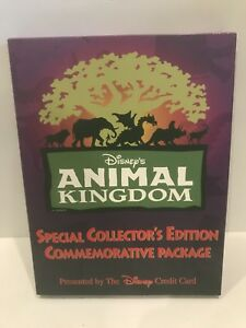 Disney-Animal-Kingdom-Collector-s-Edition-Commemorative-Package-Phone-Card-Pins