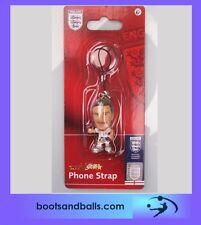 (acc 517) England football micro stars David Beckham phone charm / key ring BNIP