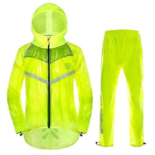 Shiny Look bagnato glanz nylon Da Uomo Setosa Retro Giacca ciclismo Tuta Track