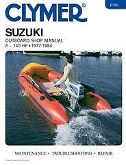 Clymer Repair/Service/Shop Manual Suzuki DT 2-140 HP 2-Stroke O/B