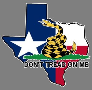"Gadsden Flag /""Don/'t Tread On Me/"" American Flag Car decal sticker graphic"