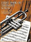 First Book of Trumpet Solos: (With Piano) by John Wallace, John Miller (Paperback, 1984)