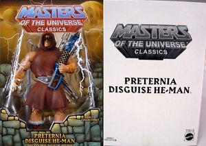 MOTU-Classics-PRETERNIA-DISGUISE-HE-MAN-New-Club-Eternia-Exclusive-Figure-w-MAP