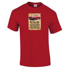 60 Year Old Golf Funny 60th Birthday Gift Dad Grandad Him T Shirt S