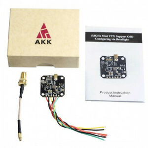Details about AKK FX3-ultimate 5 8GHz Mini VTX Support OSD Config via  Betaflight for Quad FPV