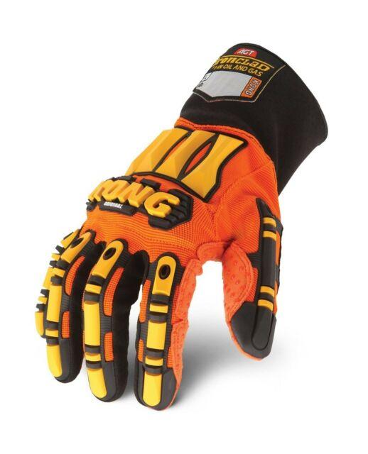 Large Ironclad EXO-MIG-04-L Motor Impact Gloves