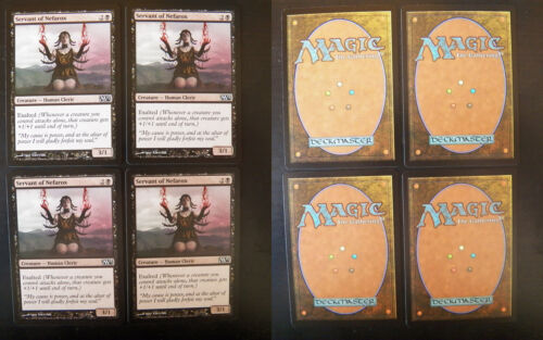 4x Servant of Nefarox M13-2013 Core Set