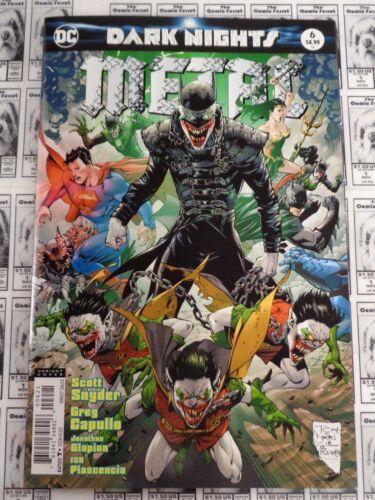 2017 NM Dark Nights Metal Tony S Snyder//Capullo DC Daniel Variant #6