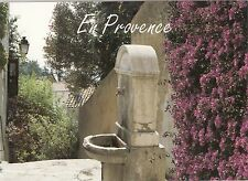 BF25350 une fontaine typique d un village en provence france front/back image
