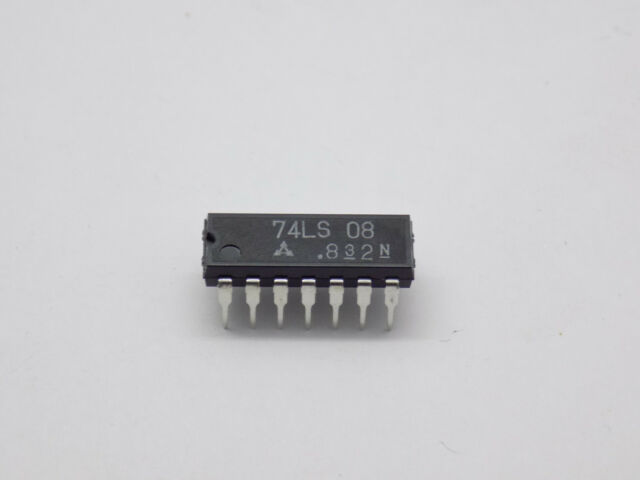 Advanced low-power Schottky 74als 08 Quad 2-Input POS and Gates dil-14 125009