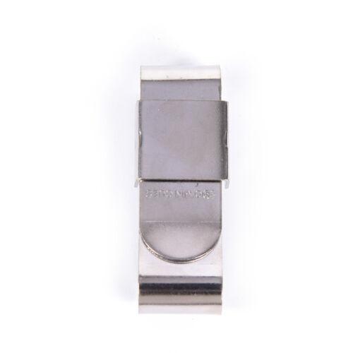 Portable Magnetic Stainless Steel Chalk Holder Clip For Snooker Billard Pool UK√