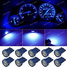 10 Deep Blue T10 168 W5W LED Gauge Speed instrument Panel Dashboard Light Bulb A
