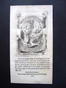 Cuivre Clés Pour 1720-p. Helenus Engraving, Holy Card, Santino, Gravure-afficher Le Titre D'origine