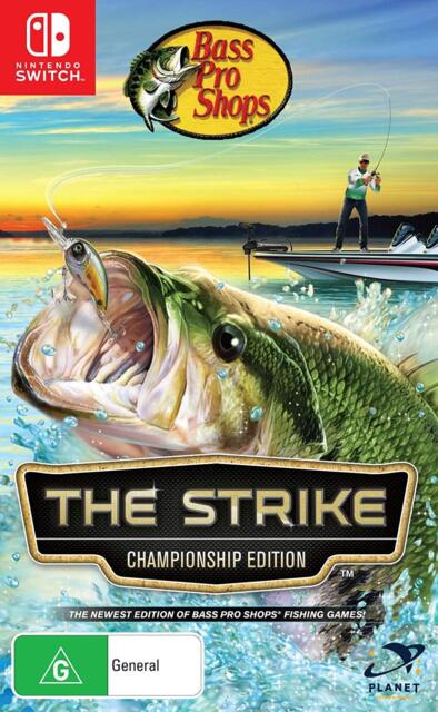 Bass Pro Shops The Strike Championship Edition Fishing Game Nintendo Switch For Sale Online Ebay