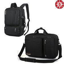 17 Inch Travel Laptop Backpack Computer Notebook Bag School Pocket Case Bla