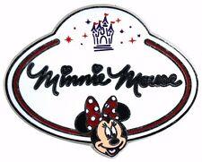 2010 Disney HKDL Name Tag Mystery Minnie Pin N3