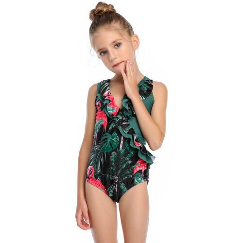 Swimwear Family Matching Mother /& Daughter Women Kids Baby Girls Swimsuit Bikini