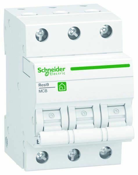 Schneider R9F23316 Leitungsschutzschalter B 16A-6kA-3 Polig-Resi9
