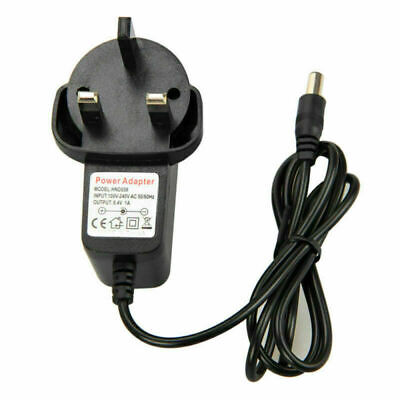 New Black Plug Adapter Battery Pack Charger Headlamp Bicycle Light Lamp L0O9