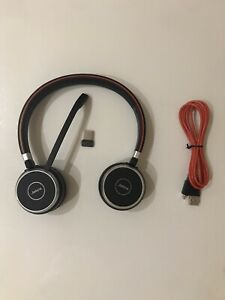 Jabra Evolve 65 Wireless Bluetooth Ms Stereo Headset Ebay