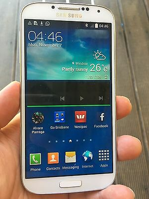 SAMSUNG GALAXY S4 GT-I9505 16GB White Frost 4G LTE Unlocked - Touch Screen Issue