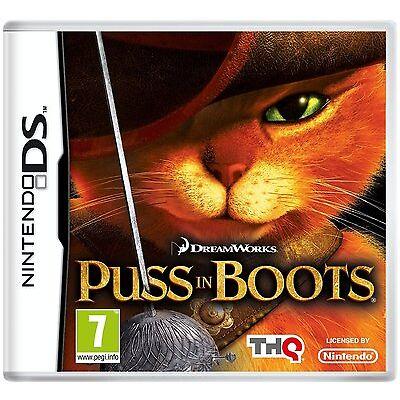 Nintendo DS NDS DSI XL Spiel Der gestiefelte Kater NEU