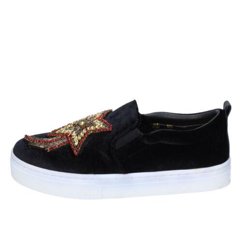 38,5 EU Details about  /Women/'s shoes SAM EDELMAN 8.5 slip on black velvet BM178-38,5