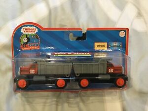 Details About Thomas And Friends Wooden Railway Max Monty Brand New And Sealed Quick Ship