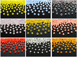 Freeshipping-100Pcs-Top-Quality-Czech-Crystal-Faceted-Bicone-Beads-3mm-Pick
