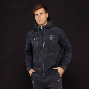 0c4a4722f2547 NIKE PSG 17 18 NSW AUTHENTIC MEN S HOODIE (AH7950 064) SIZE (S)   eBay