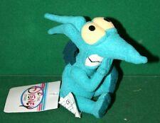 Walt Disney Bean Bag Plush PAIN/PANIC Green MINI Plush Toy - NWT - FREE SHIPPING