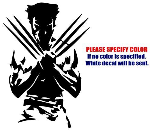 "Wolverine X-Men Funny Graphic Die Cut decal sticker Car Truck Boat Window 12/"""