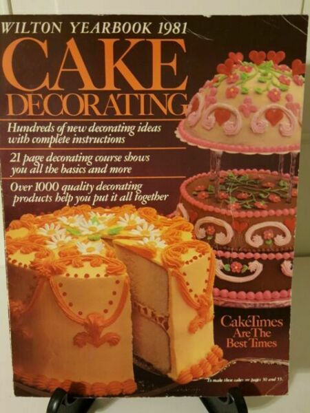 Wilton Yearbook 1981 Cake Decorating magazine for sale ...